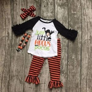 Other - Boutique Halloween 2 Pc Set. Size -6-7 Girls